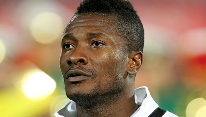 AFOCN 2017: Ghana captain Asamoah Gyan makes disguised Uganda attack