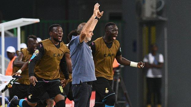 AFCON 2017 : Ghana coach plays down Black Stars favourite tag