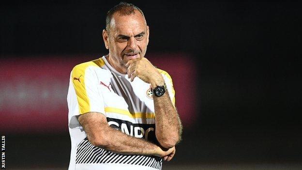 AFCON 2017: Ghana coach Avram Grant wants Black Stars to be focused for Uganda clash
