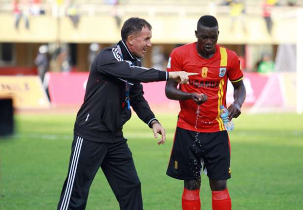 2017 AFCON: Uganda skipper Massa happy with return of Aucho and Juuko for Egypt game