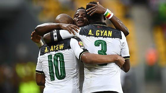 VIDEO: Watch Asamoah Gyan's record breaking goal in Black Stars victory over Mali