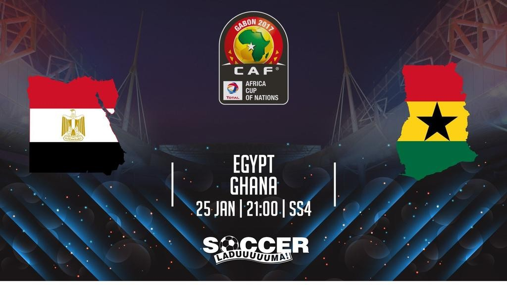 AFCON 2017: Re-live the LIVE play-by-play of Ghana's 0-1 loss to Egypt