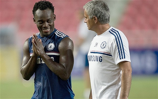 Lukaku will be reunited with Jose Mourinho according former player Michael Essien