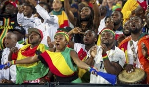 AFCON 2017: Ghanaians in Lagos confident of Black Stars' victory