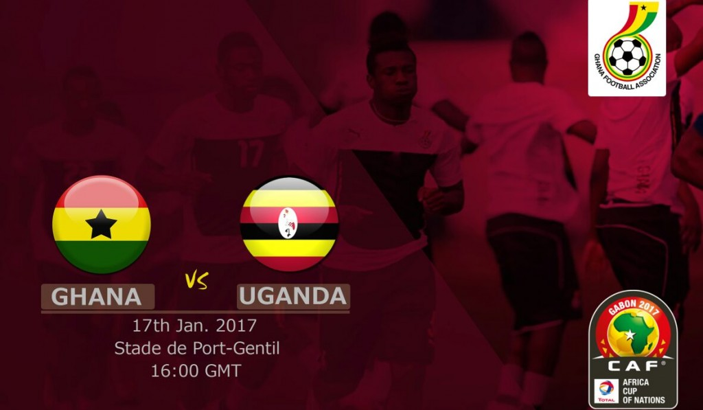 AFCON 2017: Ghana 1-0 Uganda LIVE play-by-play