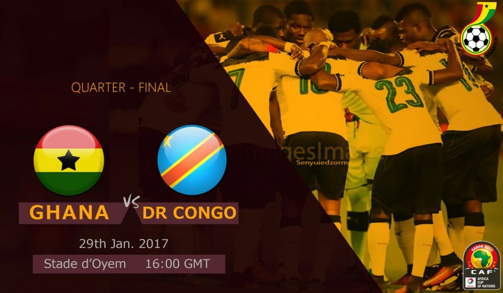 AFCON 2017: Re-live the LIVE play-by-play of Ghana's 2-1 win over Congo DR