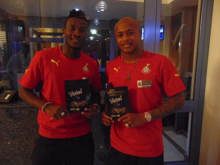 Ghana FA slams report of Asamoah Gyan storming out of Black Stars in dispute with Andre Ayew