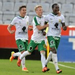 Ghana forward Raphael Dwamena scores sensational left-footed volley in Austria Lustenau's 3-0 friendly win Swiss side Vaduz