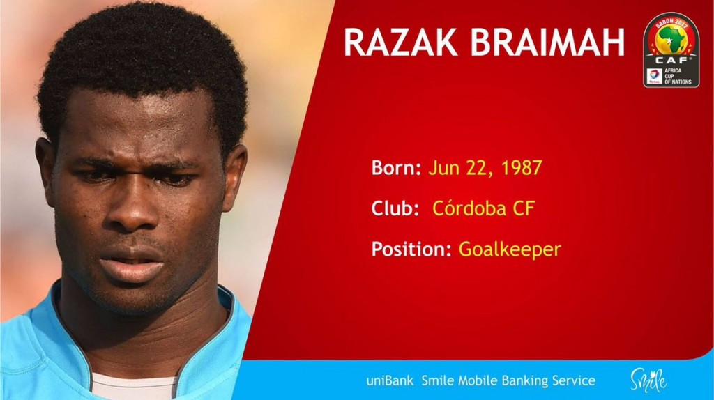 AFCON 2017: Heavily criticized Ghana goalie Razak Brimah yet to concede Afcon goal in 360 minutes
