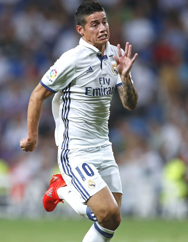 James rocked by new snub from Real Madrid boss Zidane