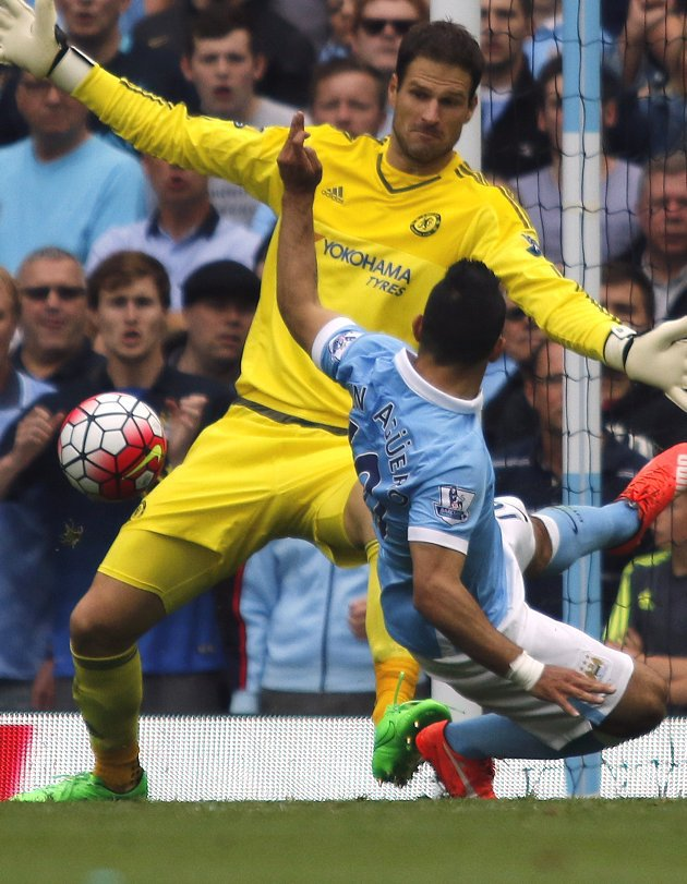 Chelsea keeper Asmir Begovic: No Bournemouth frustration