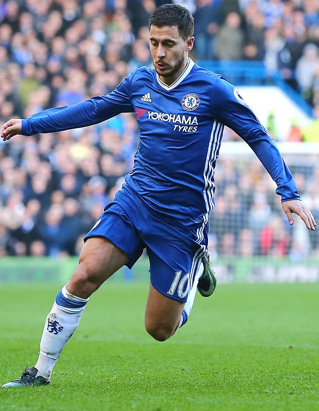 ​Chelsea midfielder Hazard reckons visiting teams fear playing at Stamford Bridge