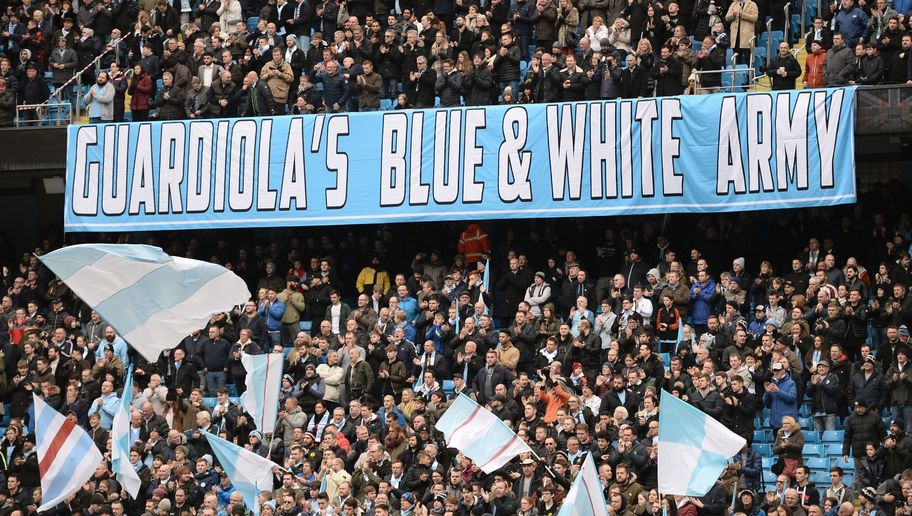 VIDEO: Copycats! Man City Fans Accused of Stealing Arch Rivals Chant After Victory Over Monaco