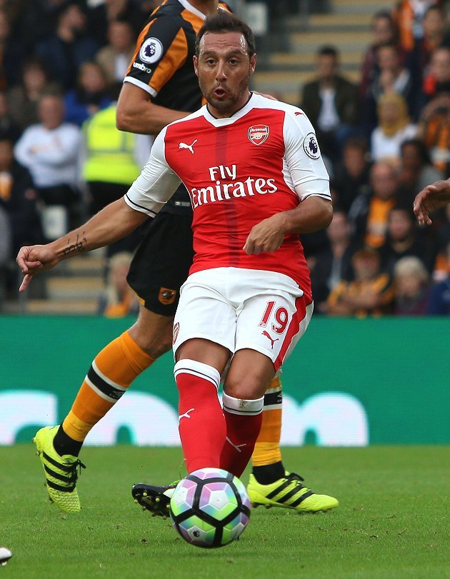 Arsenal lose Santi Cazorla for remainder of season
