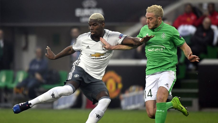 VIDEO: Watch Paul Pogba Pull Off Outrageous Skill During Man Utd's Win Over Saint-Etienne