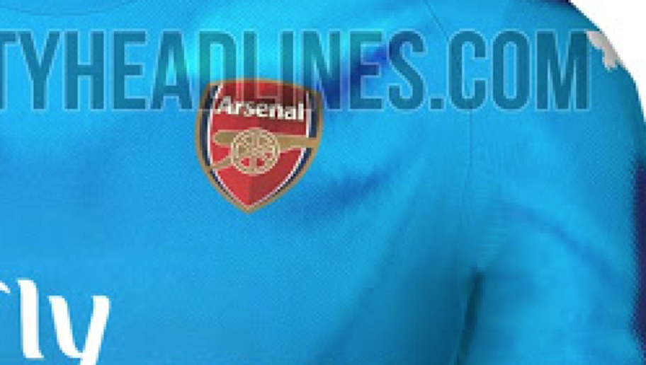 REVEALED: Images of Arsenal's Potential Home & Away Kits for 2017/18 Emerge Online