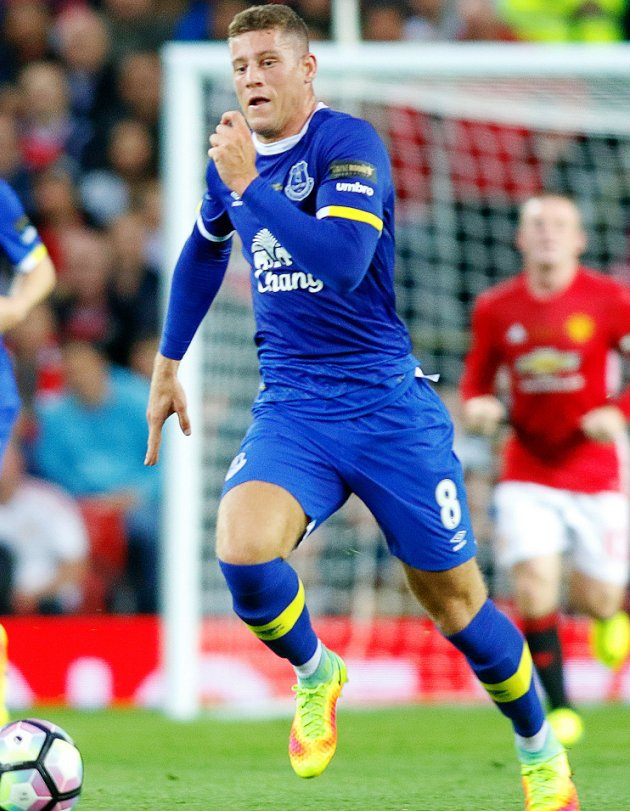 ​Barkley targets Everton finishing campaign above Liverpool