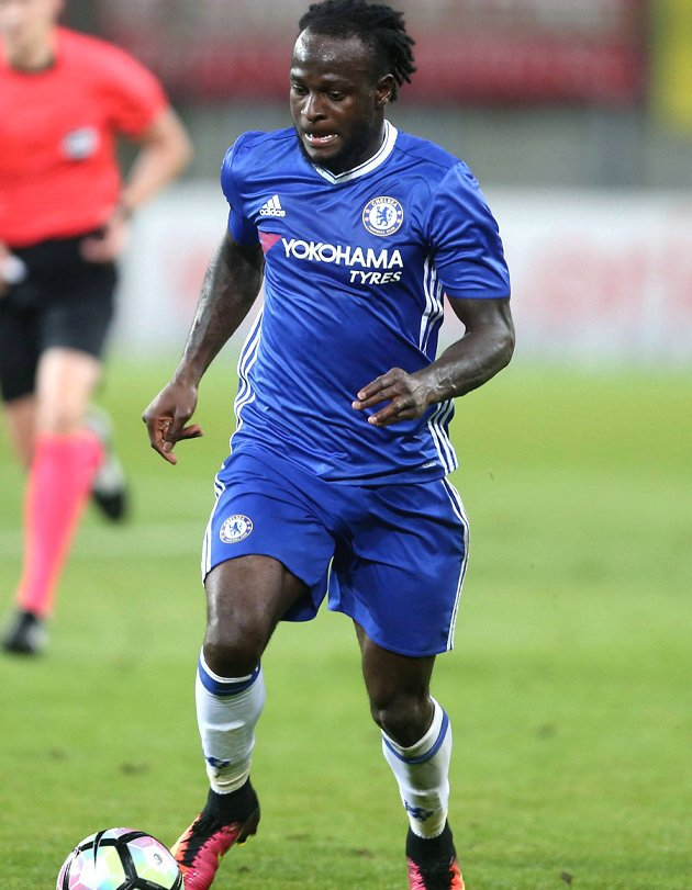 Chelsea wing-back Victor Moses: West Ham spell great for me