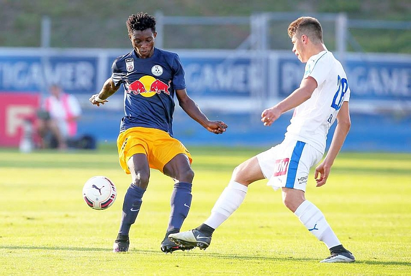 UEFA Youth League: Ghanaian starlet Mensah scores as Salzburg whitewash PSG 5-0