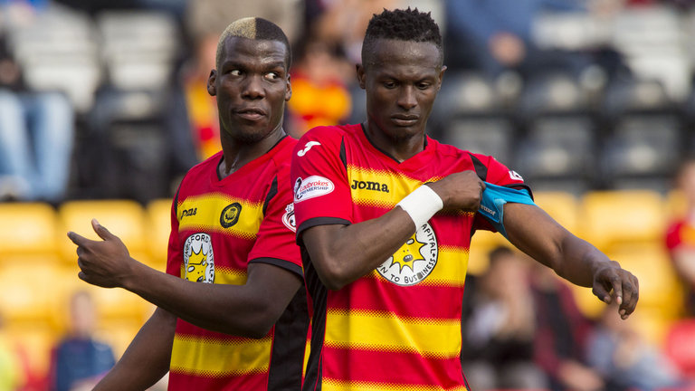 Scottish Premiership: Ghanaians Osman and Buaben set for midfield battle