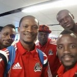 Ghanaian duo Adjei, Asante arrive in South Africa with TP Mazembe ahead of CAF Super Cup clash against Mamelodi Sundowns