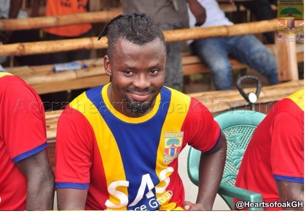 Hearts midfielder Malik Akowuah fired up to down former club Medeama