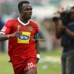 Asante Kotoko captain Amos Frimpong not worried about joint-leaders Aduana Stars
