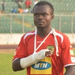 Kotoko captain Amos Frimpong ruled out for two weeks with finger injury