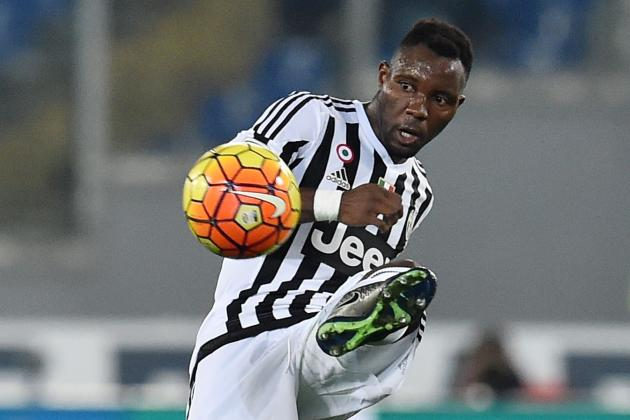 Kwadwo Asamoah's team mate Leonardo Bonucci dropped after burst up with Allegri