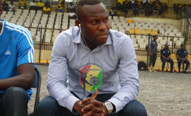 Great Olympics No.1 fan Langabel fears coach Godwin Attram will lead club to relegation