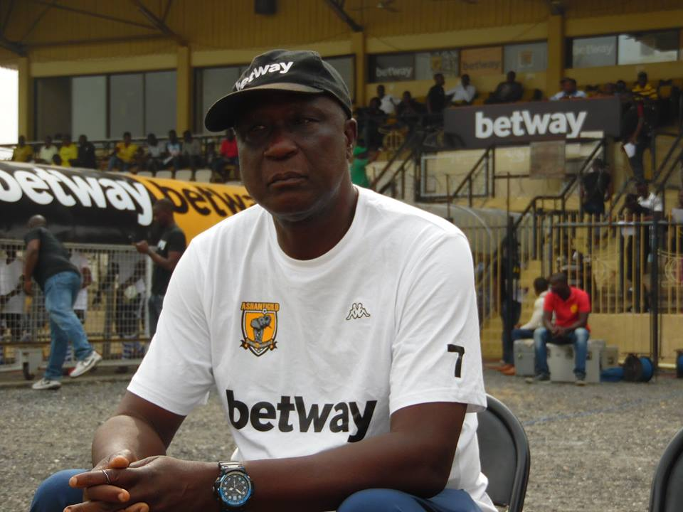 AshantiGold coach Bashir Hayford 'satisfied' despite derby defeat to Asante Kotoko