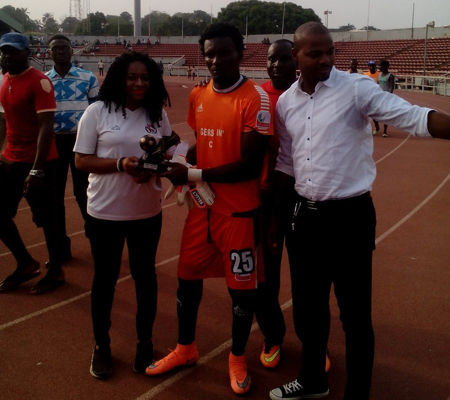 Enugu Rangers fans award goalkeeper Nana Bonsu as Player of the Month