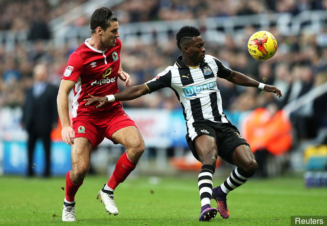 Christian Atsu confident promotion-chasing Newcastle will recover against Brighton