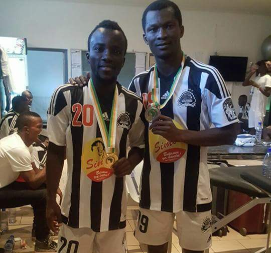 Solomon Asante and Daniel Nii Adjei miss out on CAF Super Cup with TP Mazembe