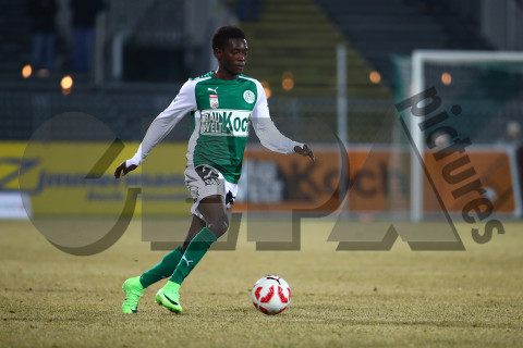 David Atanga scores as Mattersburg beat Sturm Graz in Austrian Bundesliga