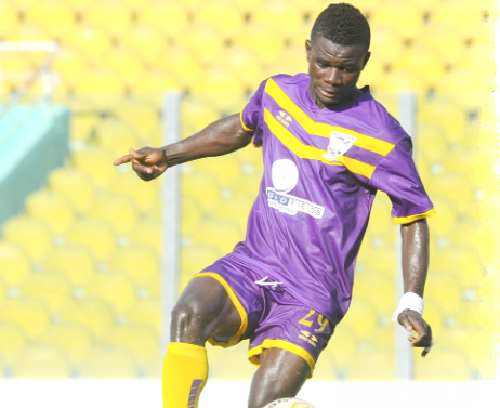 Medeama star Kwesi Donsu not eyeing goal king crown this season
