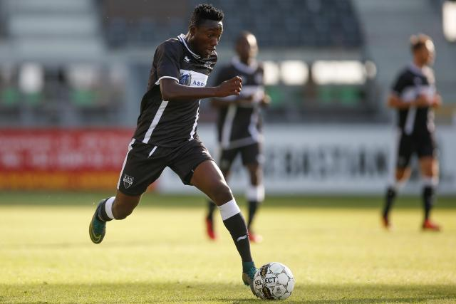 Eric Ocansey on target as Eupen edge Lokeren 3-2 in Belgian top-flight