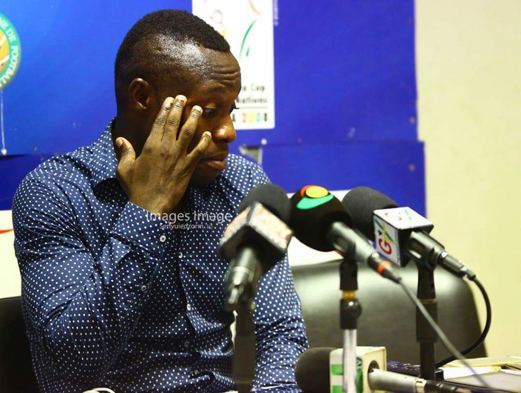 Unhappy Great Olympics coach Godwin Attram hints his players have psychological problems