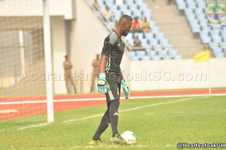 Ebusua Dwarfs goalkeeper Frank Andoh accepts Bashir Hayford's opprobrium