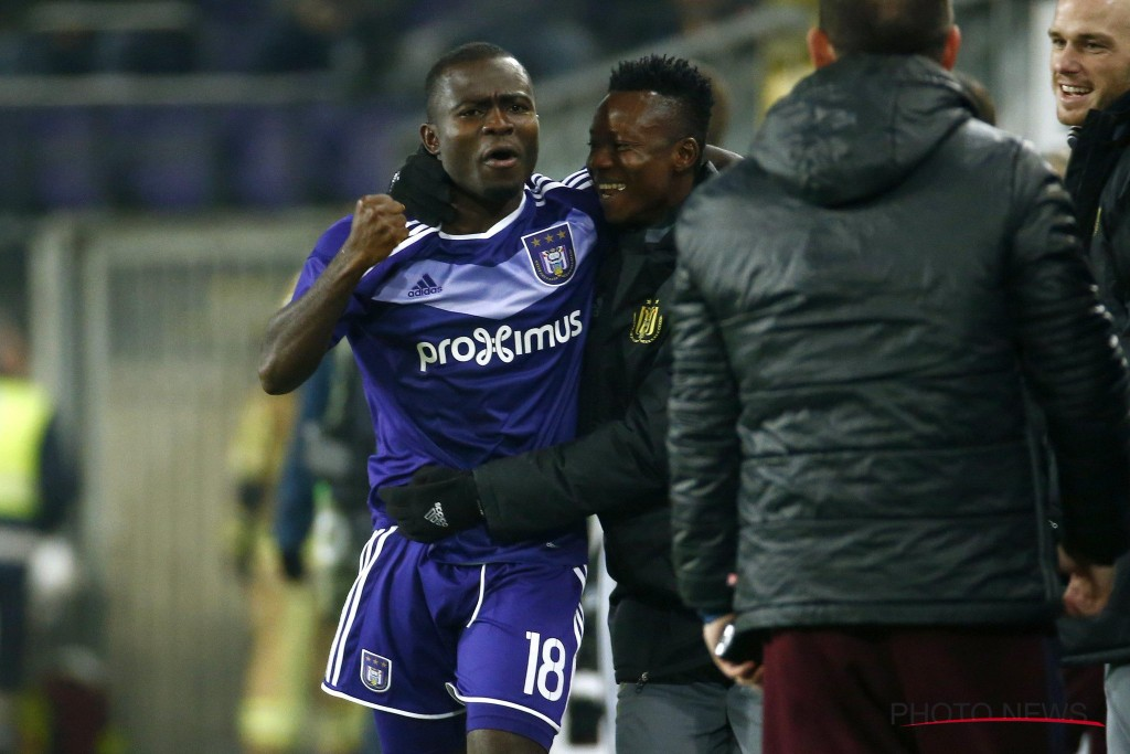 Anderlecht rejected 'concrete' January offer for Ghana international Frank Acheampong