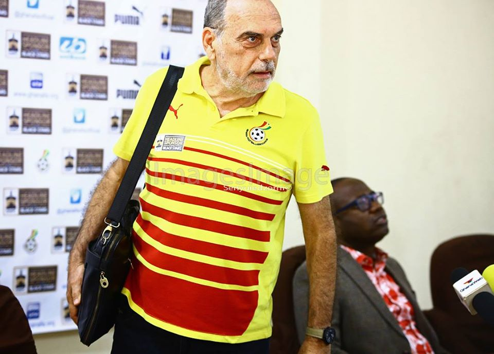 Avram Grant ready to handle Ghana for a second time as head coach