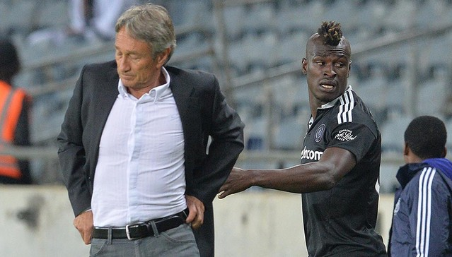 Orlando Pirates will complete their due diligence on the case involving Muhsin Ertugral and Edwin Gyimah