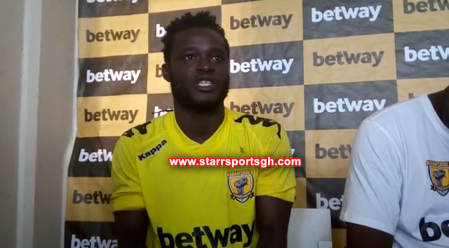 Hat-trick hero Hans Kwofie not interested in goal king; wants to win titles with AshGold