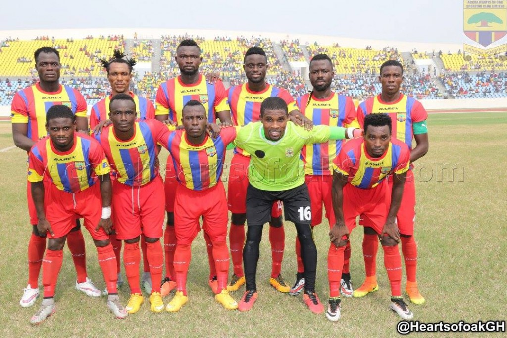 GHPL giants Hearts of Oak resume training today after 3-day break