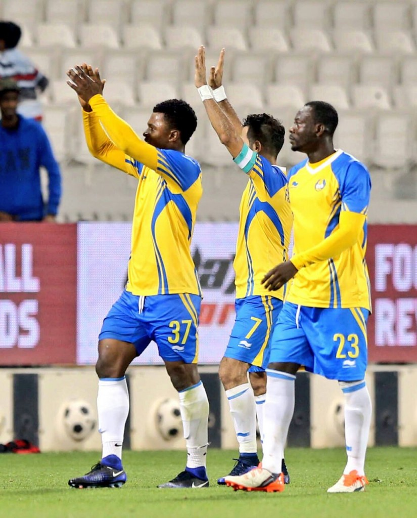 Ghana defender Rashid Sumaila scores in Al Gharafa 2-1 win over Al Rayyan in Qatar derby