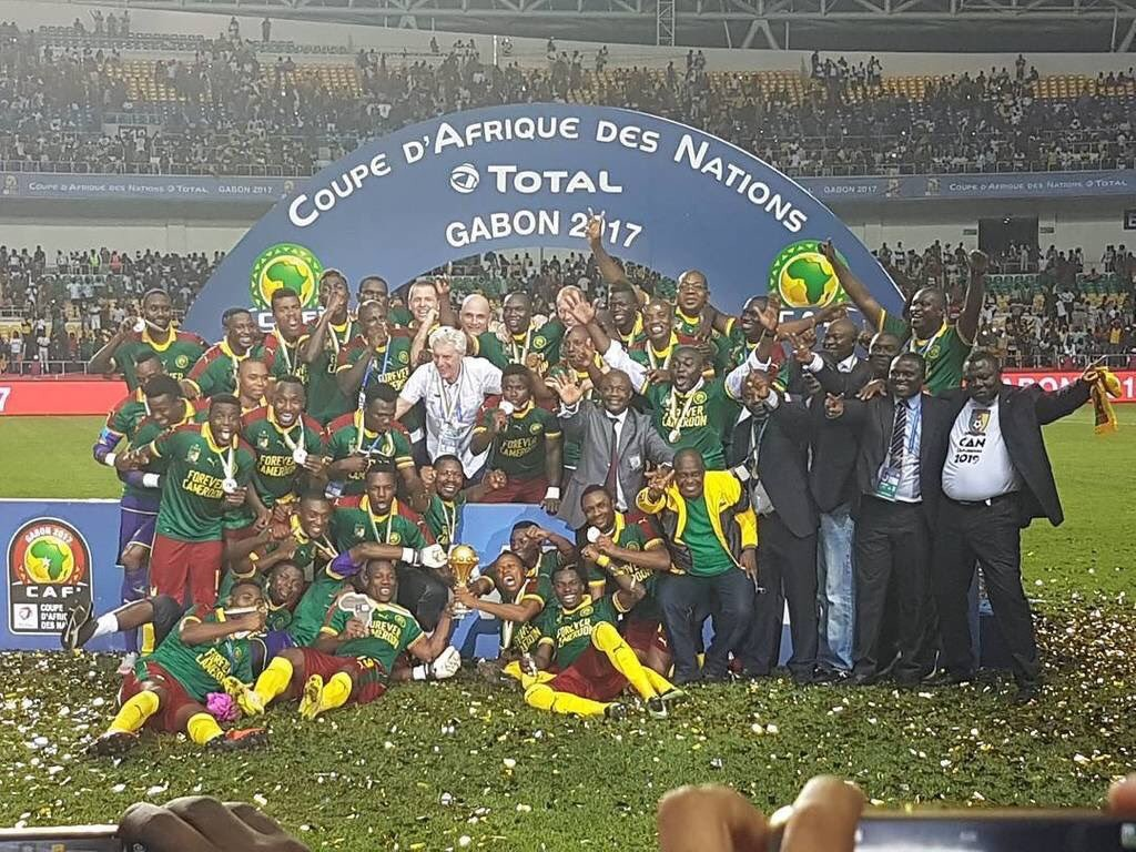 Match Report: Cameroon 2-1 Egypt - Vincent Aboubakar brilliance wins Cameroon fifth AFCON trophy