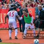 Ghanaian forward Caleb Ekuban strikes match winner for Partizani in Albania