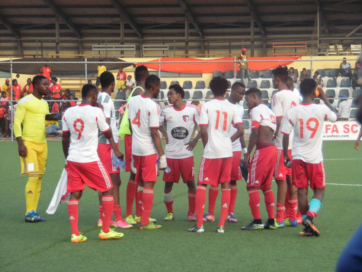 VIDEO: Watch highlights of WAFA SC's 1-1 draw with Aduana Stars