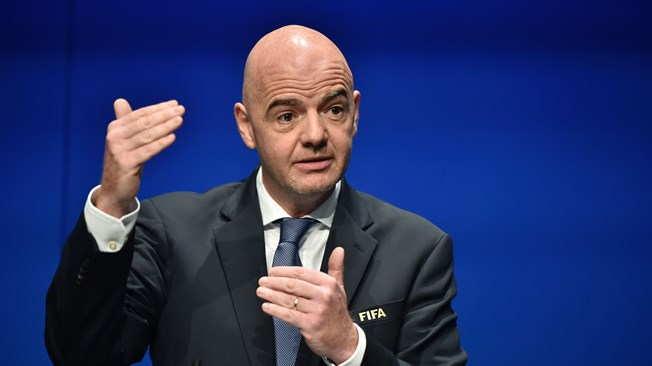Q&A with FIFA President Gianni Infantino