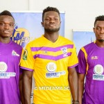 PHOTOS: Medeama unveil 16 new signings ahead of new season